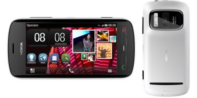 Harga dan Spesifikasi Nokia PureView 808 Ponsel sensor kamera terbesar 41 MP
